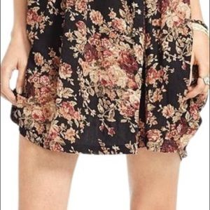 Ralph Lauren Denim & Supply Floral Mini Skirt